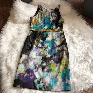 Elia Tahari Floral Dress-4